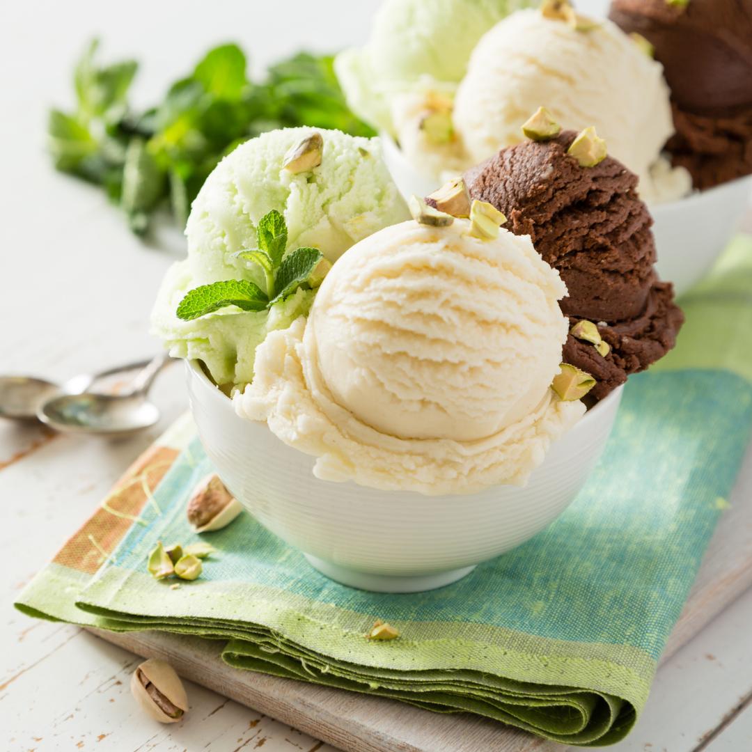 Cupe pentru înghețată și deserturi